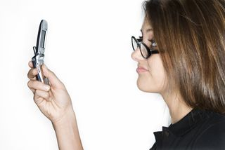 Woman w Phone