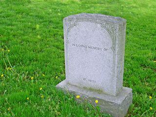 Grave-stone